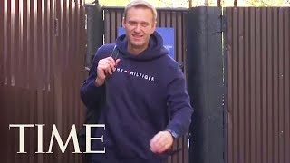 Russian Opposition Leader Alexei Navalny Released From Jail After Leading Protests | TIME