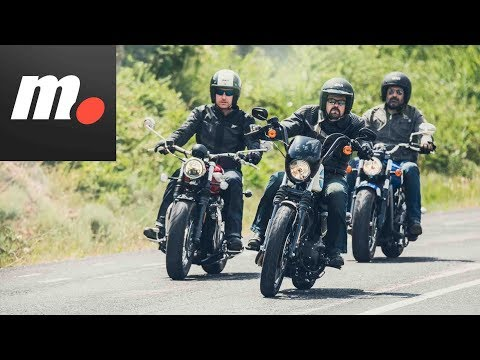 Comparativo Custom 1200 | H-D Iron, Indian Scout, Triumph Speedmaster/ Prueba / Review en español