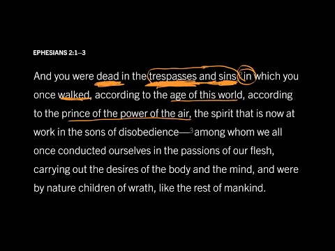 Ephesians 2:13 // Part 5 // The Difference Between Sin, Sins, and Trespasses