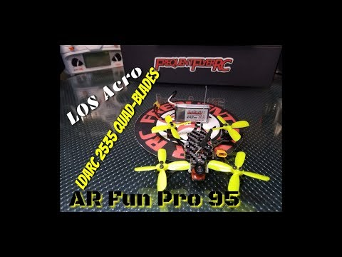 AR Fun Pro 95 LOS acro with new Kingkong 2035 quad-blades - UCNUx9bQyEI0k6CQpo4TaNAw