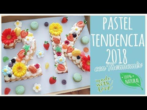 Pastel tendencia 2018 con Thermomix