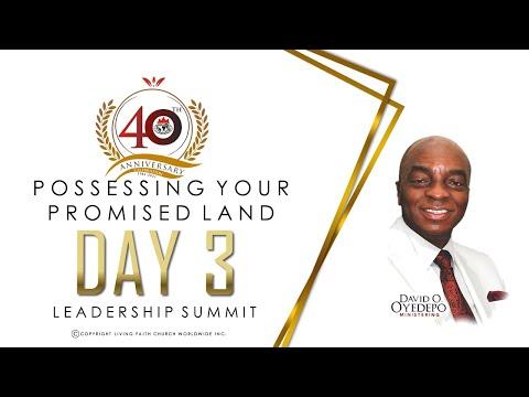 DOMI STREAM: DAY 3  40TH ANNIVERSARY  LEADERSHIP SUMMIT  4, MAY 2021.