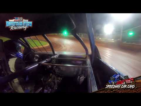 #B09 Andreason Branstetter - FWD JR - 9-11-21 Mountain View Raceway - In-Car Camera - dirt track racing video image