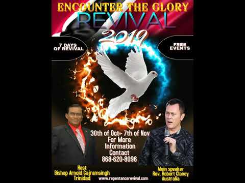 TRINIDAD & TOBAGO OCT 30th - 7th OF NOVEMBER REVIVAL