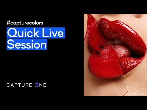 Capture One 21 Live | Quick Live #capturecolors