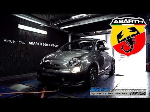 Abarth 500 1.4 T-jet 135hp Stage 1 By BR-Performance