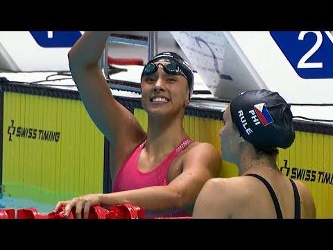 Jasmine Alkhaldi scored BRONZE MEDAL in the Women's 100m Butterfly | 2019 SEA Games