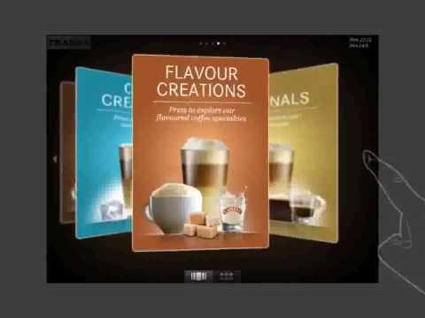 Franke FoamMaster   Inspiring menu navigation