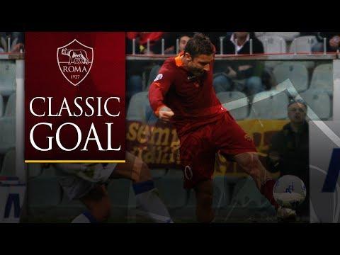 Classic Goal: Totti v Sampdoria