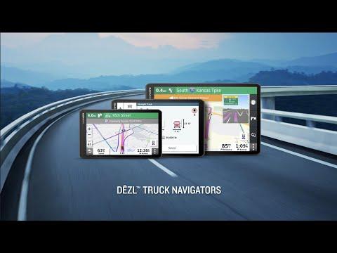 Garmin dēzl OTR Series Navigators: Know Your Route