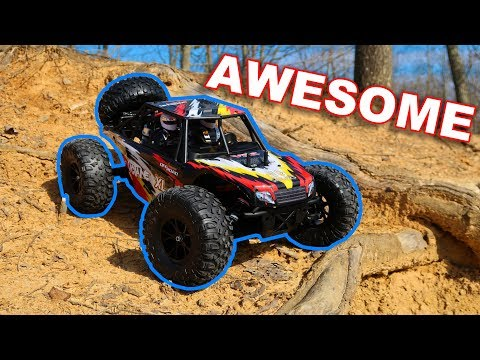 Awesome RC Truck Basher Under $200 RTR - VRX Racing RH1045 Octane - TheRcSaylors - UCYWhRC3xtD_acDIZdr53huA