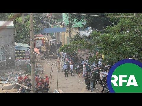 Người dân Lộc Hưng bất lực trước biện pháp cưỡng chế của chính quyền