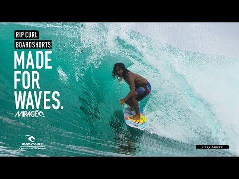 Oney Anwar | Mirage Wilko Blockade | Boardshorts by Rip Curl