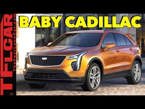 Cadillac Goes Small with the 2019 XT4 Crossover in New York