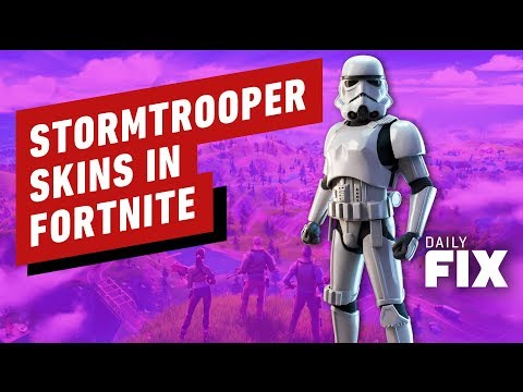 Fortnite x Star Wars: Stormtrooper Skin Now Available - IGN Daily Fix - UCKy1dAqELo0zrOtPkf0eTMw