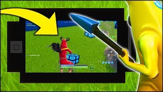 Playing FORTNITE on a WORKING PHONE inside of FORTNITE w/ MRTOP5