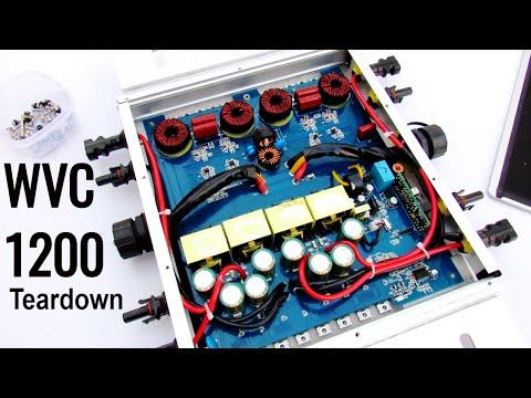 WVC1200 Solar Micro Grid Tie Power Inverter Teardown & Repair - UCjQ-YHwNTbUQLVzZQFjsDsQ