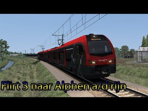 Preview 't Groene Hart | Gouda - Alphen a/d Rijn - Train Simulator 2019