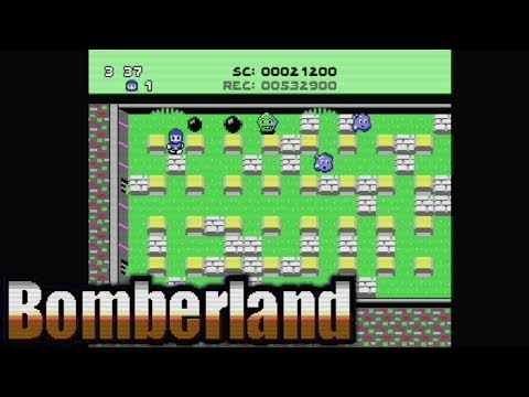 BomberLand (2018) | C64 | Homebrew World
