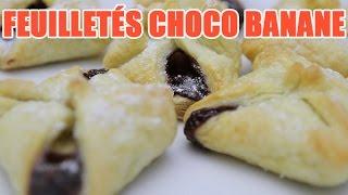 Recettes de cuisine : Minute Cuisine Feuilleté nutella banane et Moelleux au chocolat au mirco-onde en vidéo
