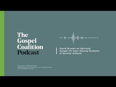 David Brooks on Spiritual Hunger Among Students