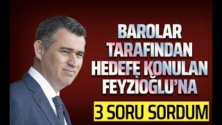 METİN FEYZİOĞLU'NA 3 SORU SORDUM (Süleyman Özışık)