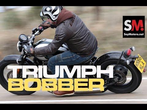 Triumph Bonneville Bobber 2017: Prueba Custom