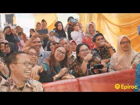 Epiroc Water For All Program,  2018/2019 -  Indonesia