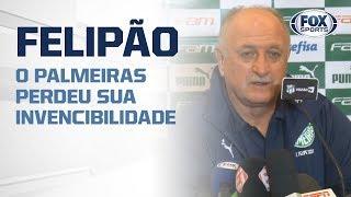 FELIPÃO CONCEDE COLETIVA! O Palmeiras perdeu sua invencibilidade após derrota para o Ceará