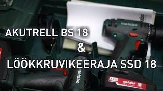 18V COMBO: AKUTRELL BS 18 + LÖÖKKRUVIKEERAJA SSD 18