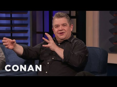 "Patton Oswalt: ""Happy"" Is The Most Messed Up Show I've Ever Been A Part Of - CONAN on TBS"
