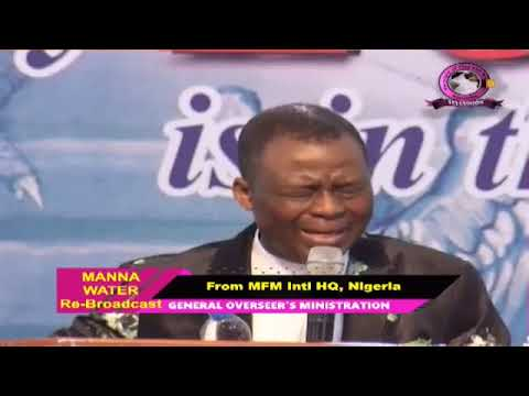 IGBO MFM SPECIAL MANNA WATER SERVICE WEDNESDAY MAY 20th 2020