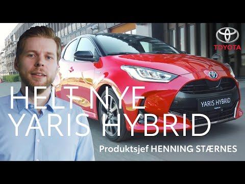 Toyota presenterer: Helt nye Yaris Hybrid
