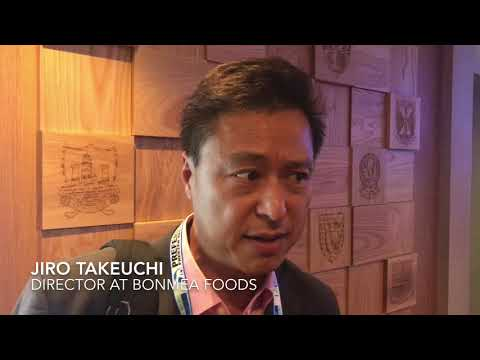 Jiro Takeuchi, director at Bonmea Foods