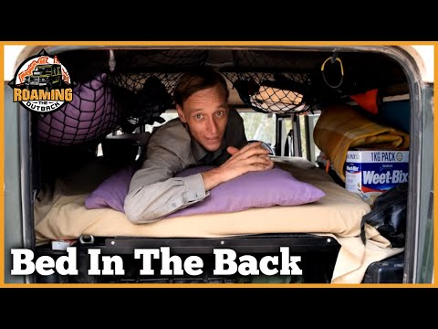 Sleeping In The Back Of a Defender - UCqZ-Oz4HKDxPdqsffsoIOrg