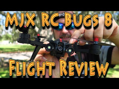 Review: MJX RC Bugs 8 Flight Test!!! (06.18.2017) - UC18kdQSMwpr81ZYR-QRNiDg