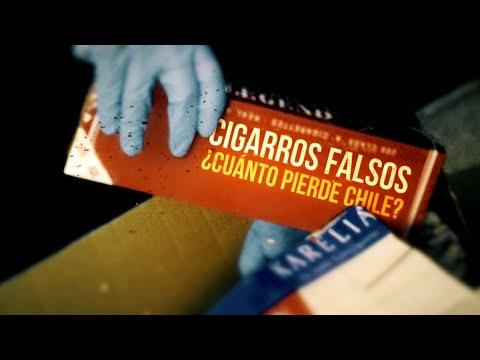 Cigarros falsos, ¿cuánto pierde Chile? - #ReportajesT13