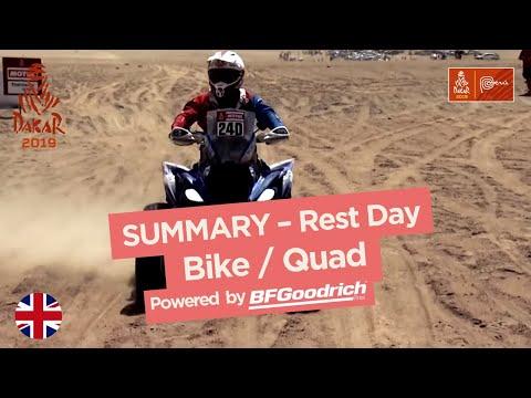 Summary - Bike/Quad - Rest Day (Arequipa / Arequipa) - Dakar 2019