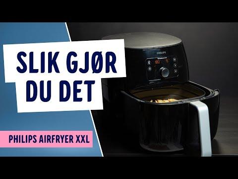 Hvordan lage pommes frites med Philips Airfryer XXL