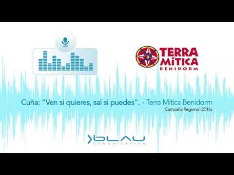 """Cuña """"Ven si quieres, sal si puedes"""" Terra Mitica Benidorm 2016 - Blau Comunicación"""