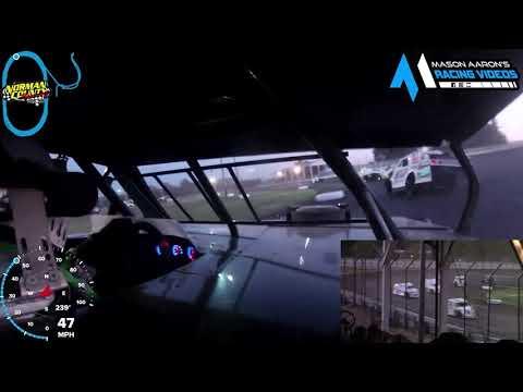 #12 Matt Aukland IMCA Modified On-Board @ NCR (6/17/21) - dirt track racing video image