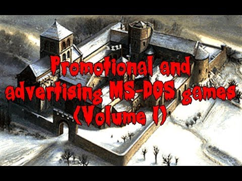 Promotional and Advertising MS-DOS Games (Volume I)