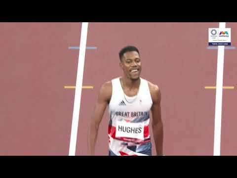 British sprinter Zharnel Hughes disqualified from men's 100m final