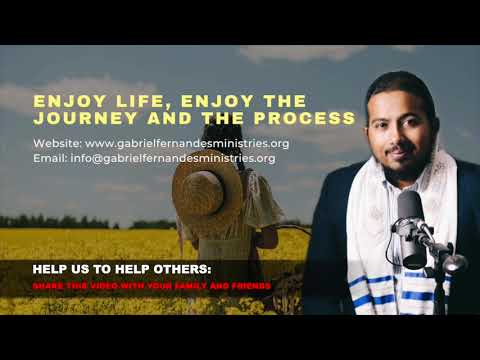 ENJOY LIFE, ENJOY THE JOURNEY AND THE PROCESS, POWERFUL SERMON AND PRAYER WITH EV. GABRIEL FERNANDES