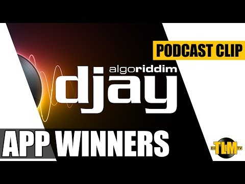 DJay 2 app giveaway winners