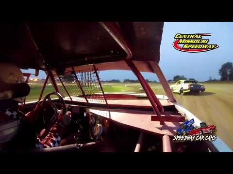 #4D David Doelz - Pure Stock - 7-4-2021 Central Missouri Speedway - In Car Camera - dirt track racing video image