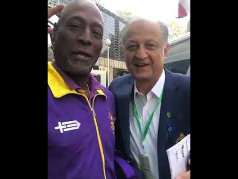 Sir Viv Richards In Karachi Now & Has Joined The Team