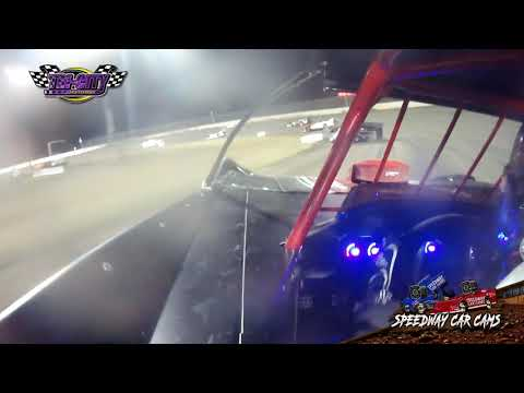 #44 Blaze Burwell - Super Late Model - Mod Mania 2020 Tri-City Speedway - dirt track racing video image