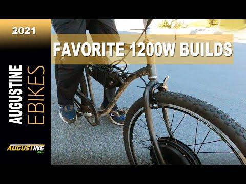 E bikes 2021: 3 of my favorite 1200w Hub Kit Builds