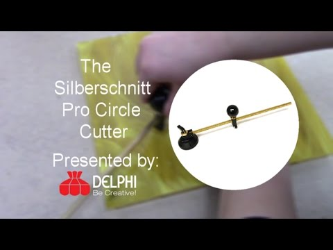 The Silberschnitt Pro Circle Cutter | Delphi Glass